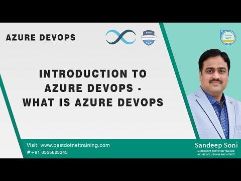 What Is Azure DevOps? | Azure DevOps Tutorial | By Mr. Sandeep Soni, Azure Architect