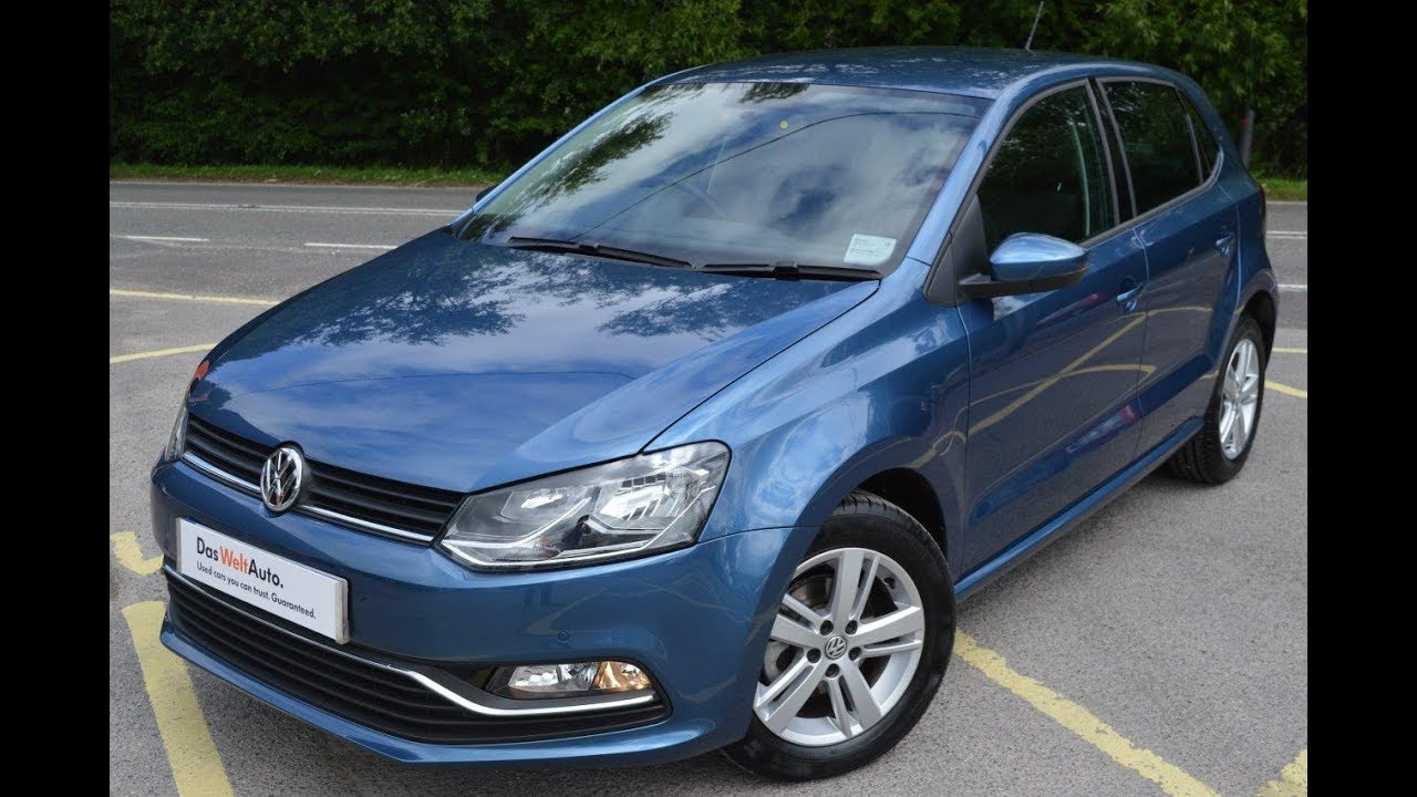 2017 Vw New Polo 1 0 Match 60ps Bmt 5dr Manual Blue Silk Metallic For Petersfield