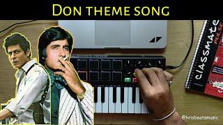 Don Theme Song   Amitabh bachchan, Shahrukh Khan (Cover)