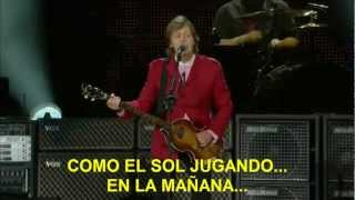 Paul McCartney- Sing The Changes (Subtitulada Español) (Zócalo México: 2012)