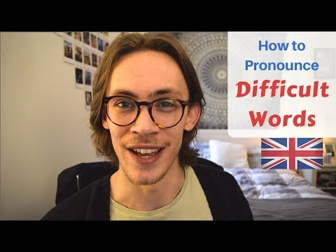 How to Pronounce 10 Difficult Words | British English Pronunciation