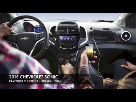 Amazing 2015 Chevrolet Sonic San Antonio | Cavender Chevrolet Boerne, Texas