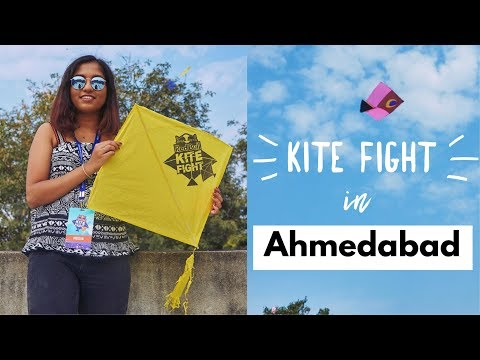 Exploring Ahmedabad with RedBull | Kite Fight 2018 // #MagaliTravels