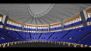 Metsa Wood Plan B: Technical Design And 3d Structures For Wooden Colosseum