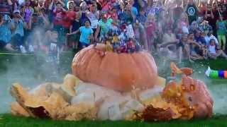 Stillwater Harvest Fest Drops 2,000 pounds of pumpkin onto a GoPro