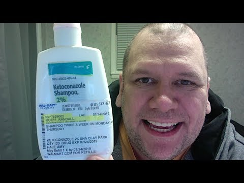 Randall M Rueff 2 Month Review Of Ketoconazole Shampoo 2 10 10 2018 A D Youtube