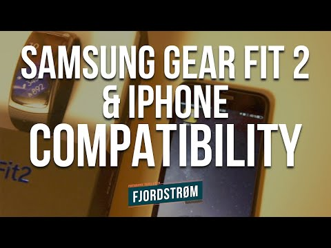 Samsung Gear Fit 2 with iPhone review and compatibility (May 2017)
