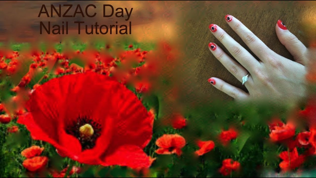 How to create poppy nail art for anzac day youtube how to create poppy nail art for anzac day mightylinksfo Gallery