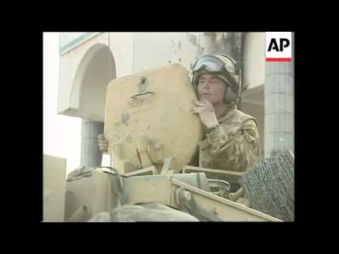 GWT: British troops in centre of city
