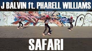 J Balvin - SAFARI // coreografia