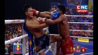 ពុយ វណ្ណៈ Puy Vannak Vs (Thai) Phit Noy, CNC TV Boxing, 18/May/2018