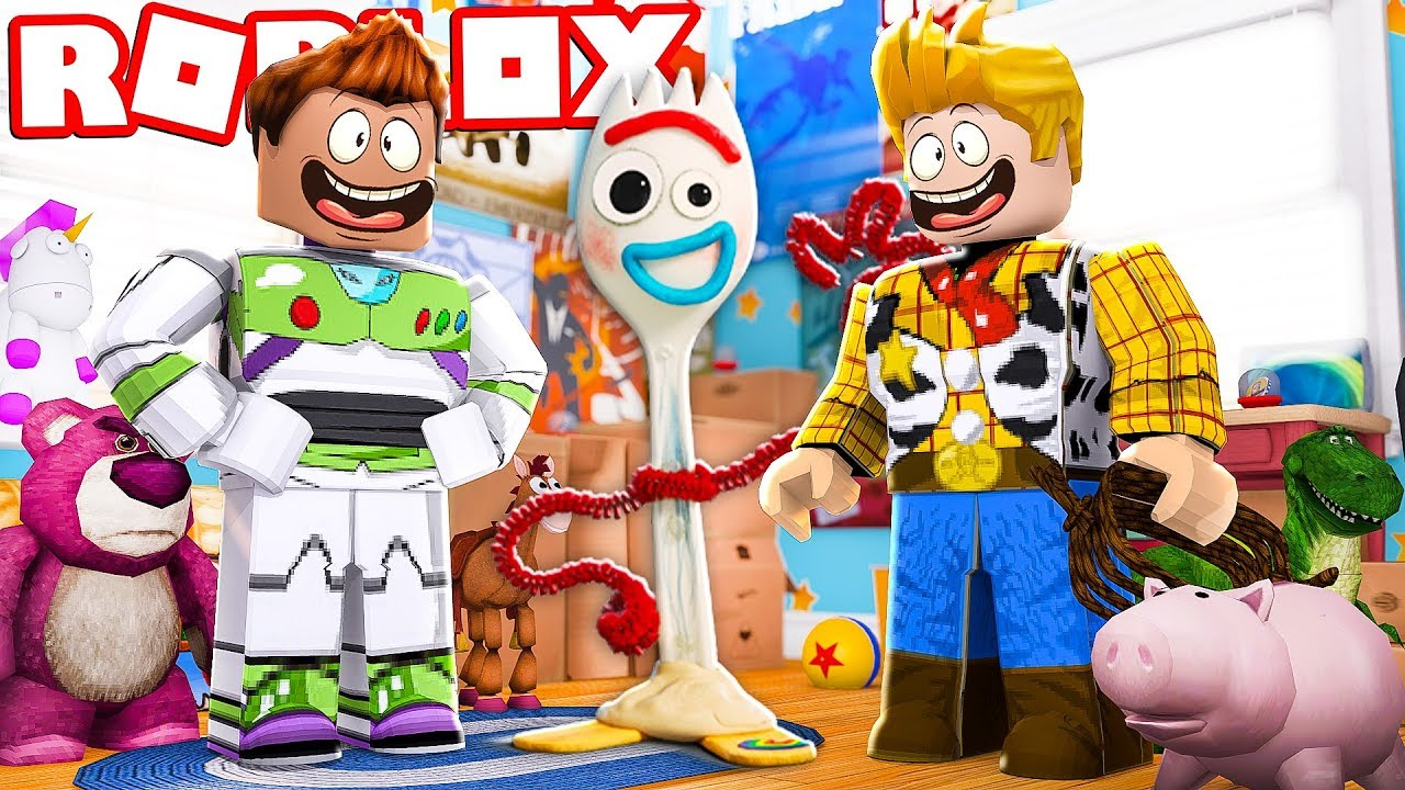 ENTRAMOS DENTRO DO FILME TOY STORY  4 NO ROBLOX !