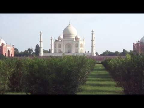HD video From Taj Mahal for description travel guide