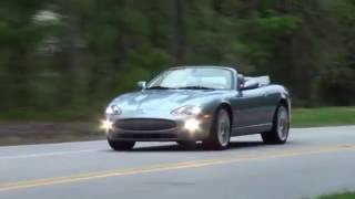"""06 Jaguar XKR Victory Edition with 20"""" Perseus BBS wheels Frost Blue/Dove presentation..."""