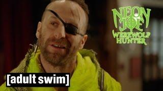 Neon Glow | Neon Joe, Werewolf Hunter | Adult Swim
