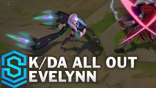 K/DA ALL OUT Evelynn Skin Spotlight - Pre-Release - League of Legends