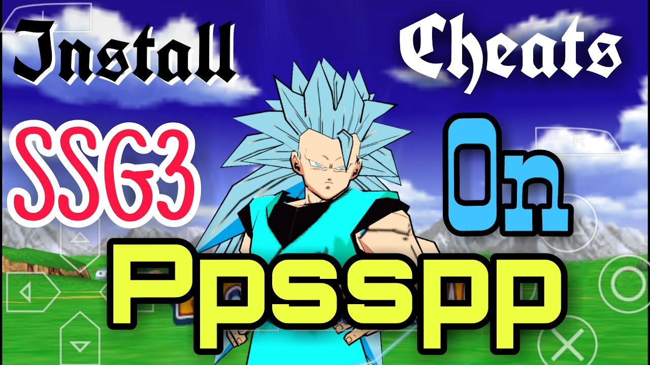 how to add cheats ppsspp