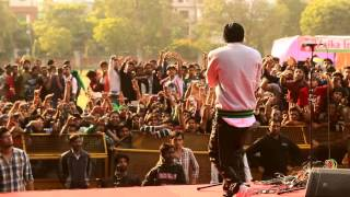bohemia live official video in hansraj college