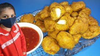 Chicken Pakora  Fry Chicken Pakora Recipe  Ramadan Special Food  Fatima&#39s Vlogs
