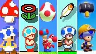 Super Mario Maker 2 - All Toad Power-Ups