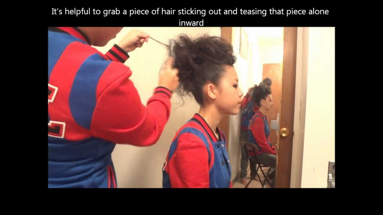 How To Make A Mohawk With Long Hair Youtube