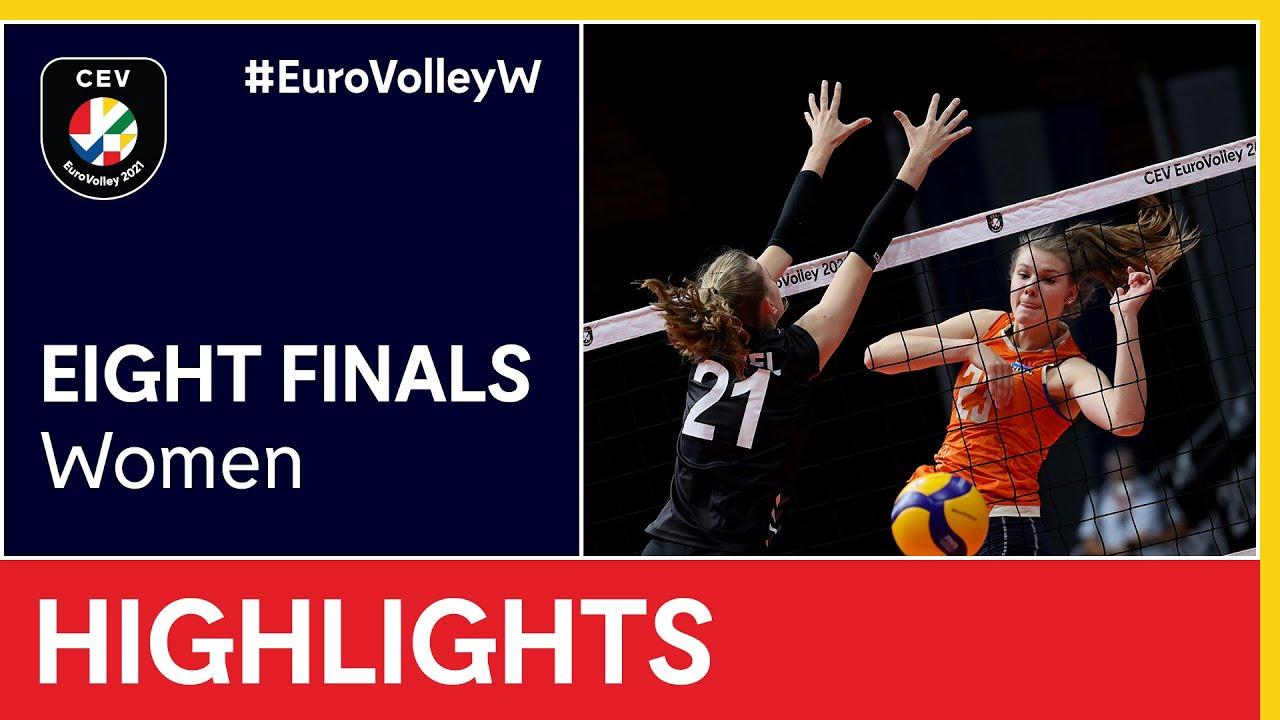The Netherlands vs. Germany Highlights - #EuroVolleyW