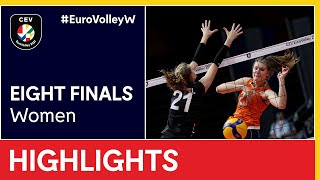 The Netherlands vs Germany Highlights EuroVolleyW