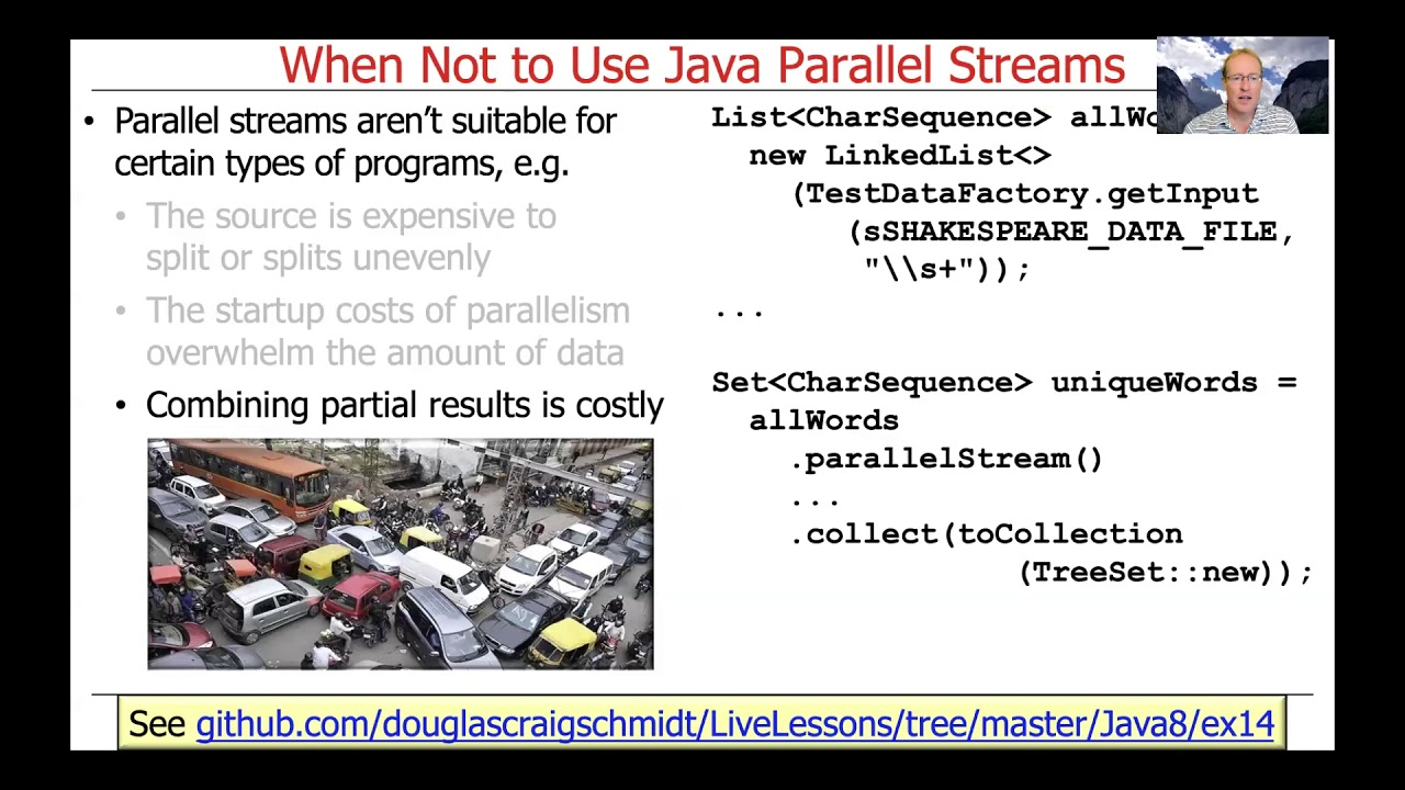 When Not to Use Java Parallel Streams