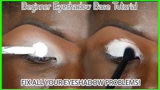 Beginners Eyeshadow Base Prep For Intense Color Payoff | Eyeshadow 101 EP.2 || Ohemaa