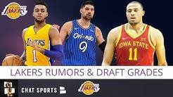 Lakers Draft Grade + Free Agency Rumors On Nikola Vucevic & D'Angelo Russell | 2019 NBA Draft Recap