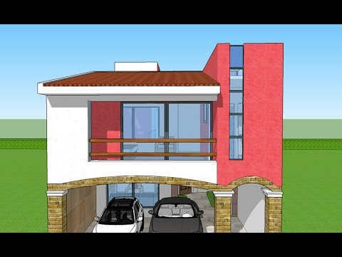 Plano Casa 7x20 Mts Terreno Youtube