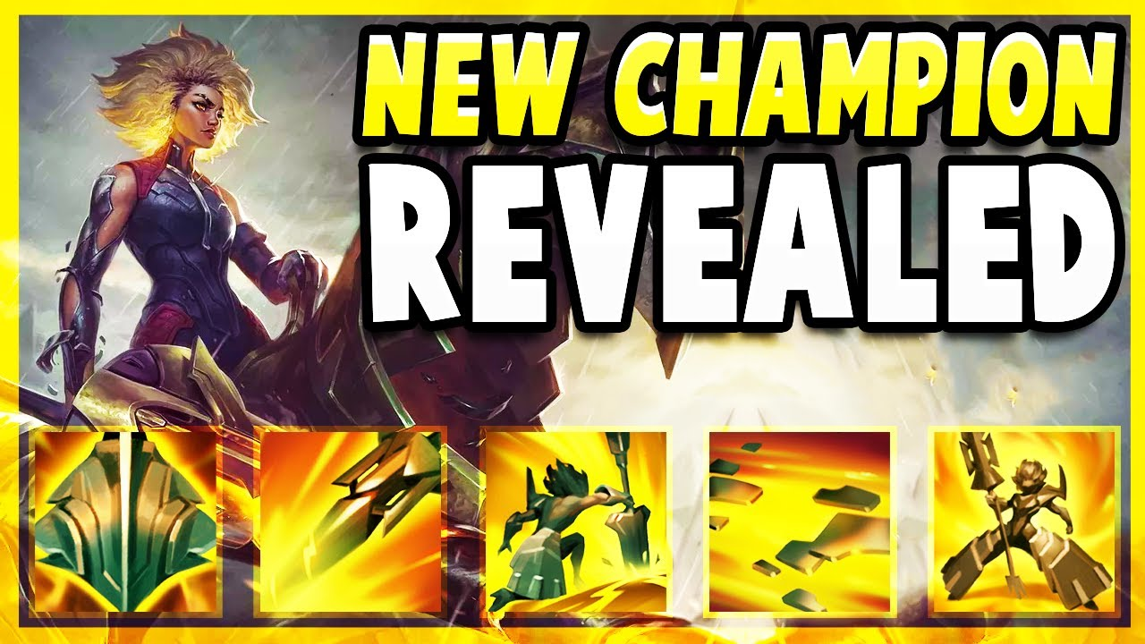NEW CHAMPION RELL REVEALED! THE BEST TANK SUPPORT IN THE GAME? - League of Legends Patch Note Review