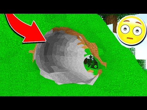 Thumbnail: WHAT IF THERE WAS NO CUBES IN MINECRAFT!? 😱