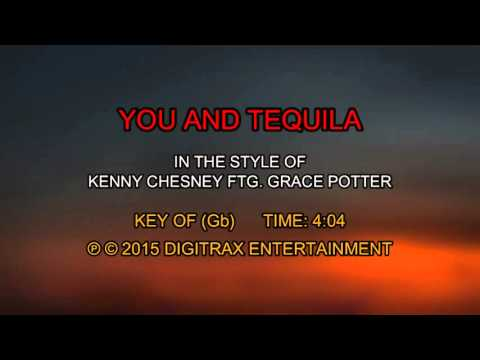 Kenny Chesney ftg. Grace Potter - You And Tequila (Backing Track)