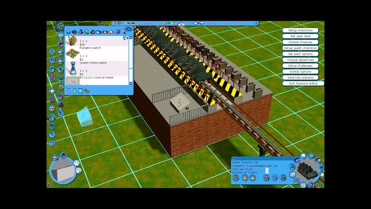 RCT3 How to make a good realistic station!