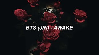 BTS (방탄소년단) JIN 'AWAKE' Easy Lyrics