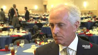 Sen. Bob Corker critical of Trump, says he hasn't displayed 'competence' to be successful