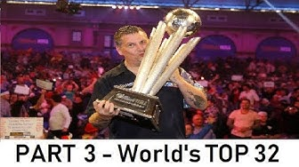 Every player in the TOP 32 of the PDC ranking (PART 3 - World Darts Championship)