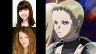Anime Voice Comparison- Deneve (Claymore)