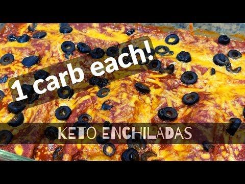 keto-enchiladas-|-one-carb-per-enchilada!-store-bought-zero-carb-tortillas