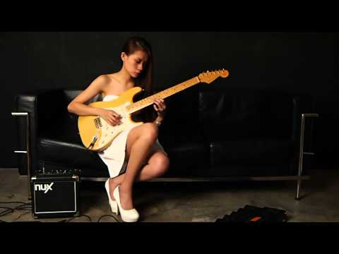 Fusion jazz - song written with Dbmaj7(#5) and F blues (by Sapphire Ng)