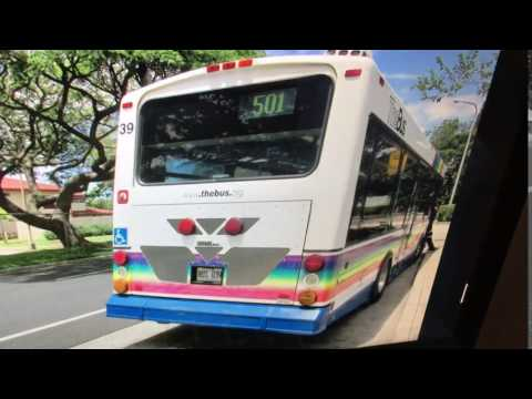TheBus Honolulu 2001 Chance Opus #39 Route 501 Picture