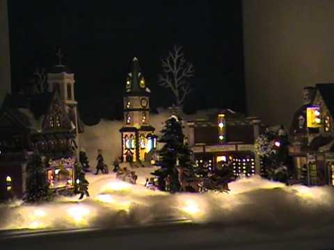 St Nicholas Christmas Village.St Nicholas Square