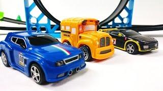 Мультик про гоночные машинки: Трасса с мертвой петлей, игрушки для детей(, 2014-11-28T09:01:48.000Z)
