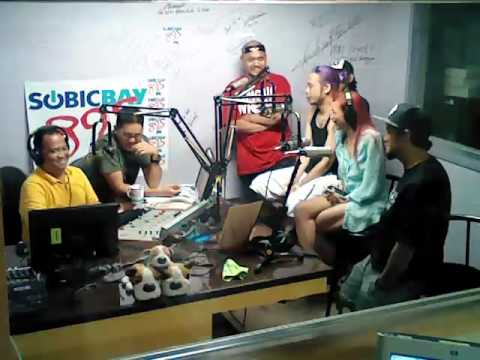 89.5 Subic - LIVE Interview with Intl Club DJs and MCs