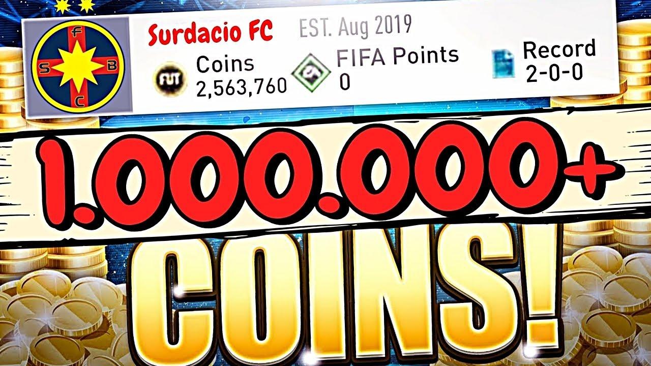 CUM SA FACI 1.000.000+ COINS LUNAR PE FIFA 20   #26 (INFO) FIFA 20 ULTIMATE TEAM