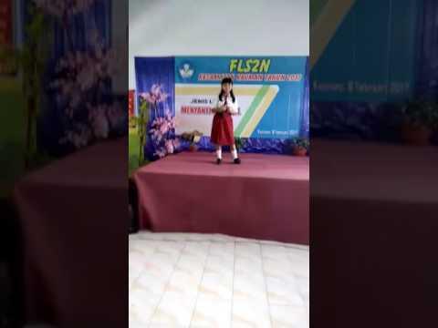 Sheysha juara 1 lagu Indonesia Jaya SDN 1 Somoroto