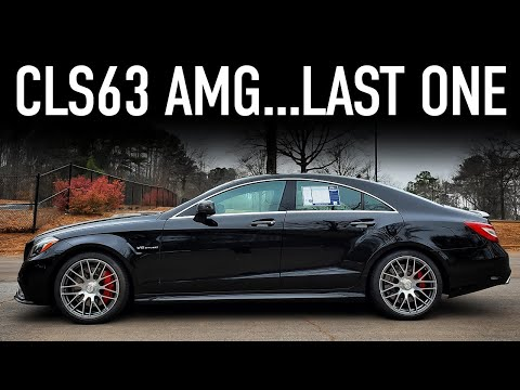 2016 Mercedes CLS63 AMG Review...End Of The V8 Era