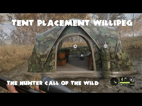 theHunter - Call of the wild - Tent Placement Willipeg & theHunter - Call of the wild - Tent Placement Willipeg - YouTube