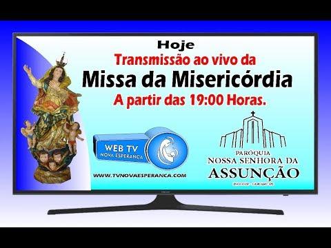11 de Abril -  Missa da Misericórdia   -Paróquia N. Senhora da Assunção   - Caruaru - PE